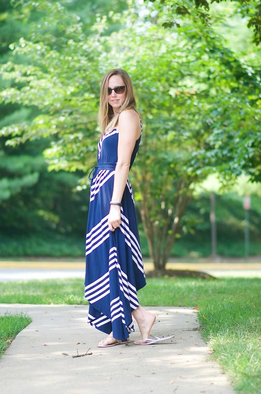 blue v dress 4