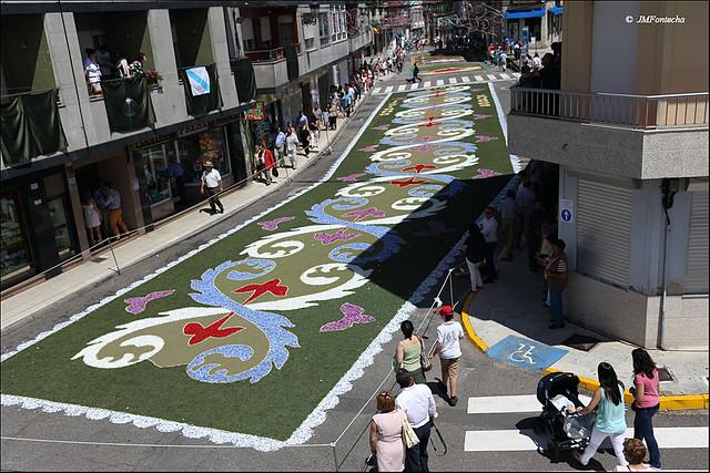 JMF251490 - Ponteareas - Galicia - Alfombras de flores del Corpus