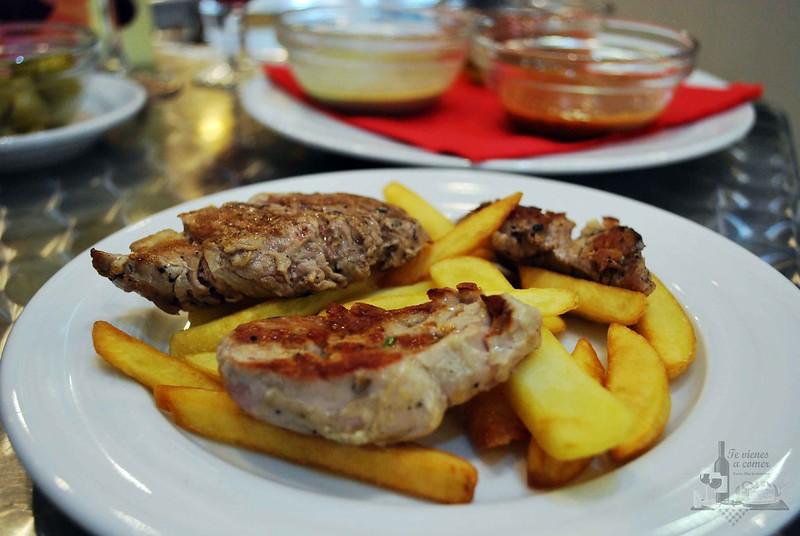 Comer en Fogón de San Andres