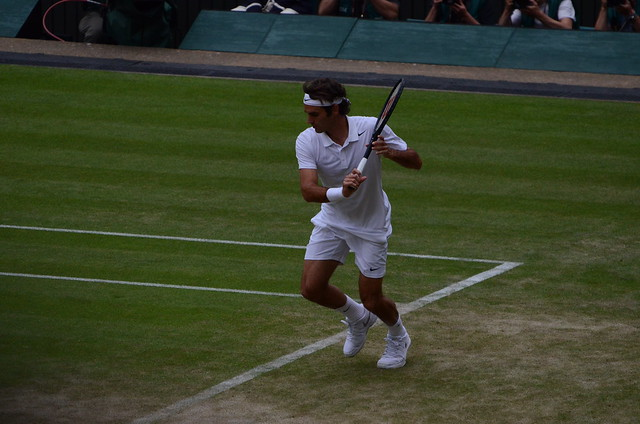Federer slice backhand