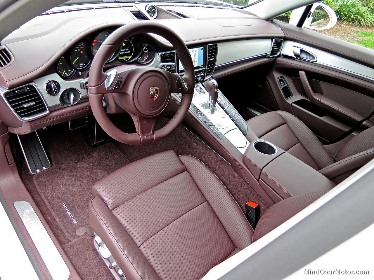 Porsche Panamera S E-Hybrid Interior Shot