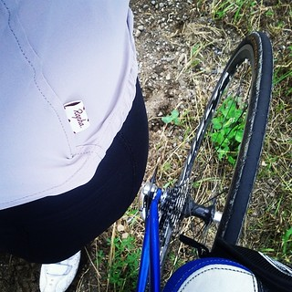 I wore my #Rapha souplesse jersey for the Rapha #womens100 challenge! #latergram #bike #metriccentury #roadie