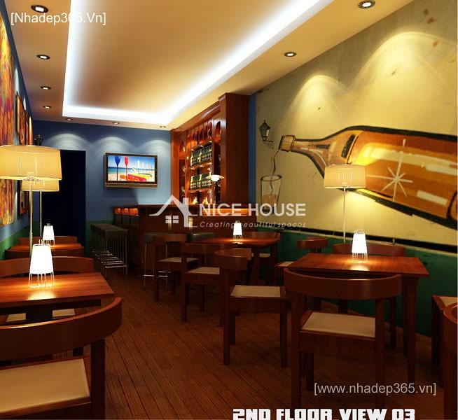 Nội thất quán cafe Cu Ba - HN_3