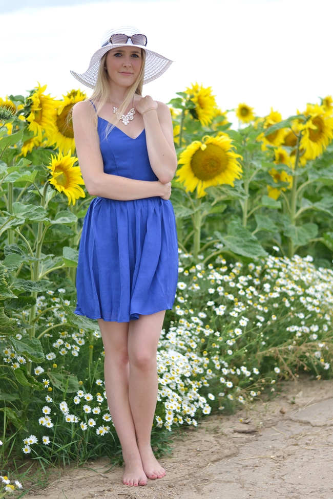 Outfit field with sunflowers (2)