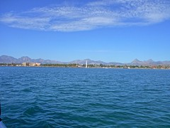 Loreto from the water