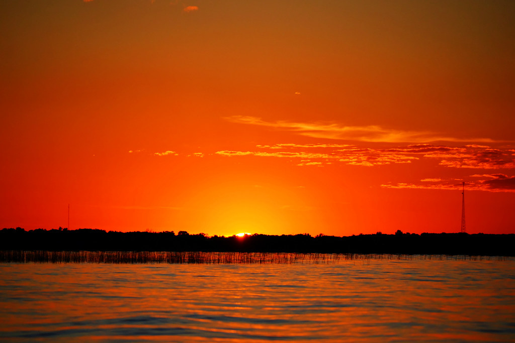 Ottertail Lake, Minnesota.