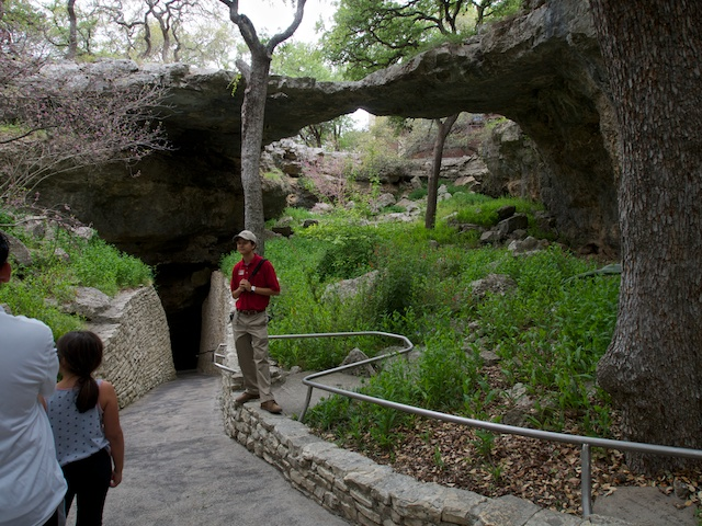 Natural Bridge entrance