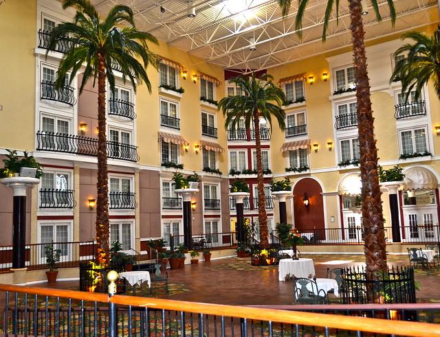 Inside Garden - DoubleTree Hilton Lancaster PA