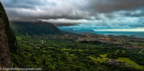 sunrise hawaii oahu lookout pali palilookout
