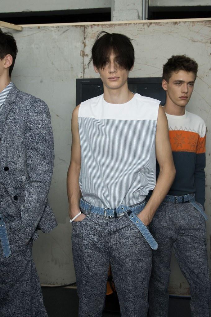 SS15 Paris Krisvanassche230_Timur Simakov, Billy Vandendooren(fashionising.com)