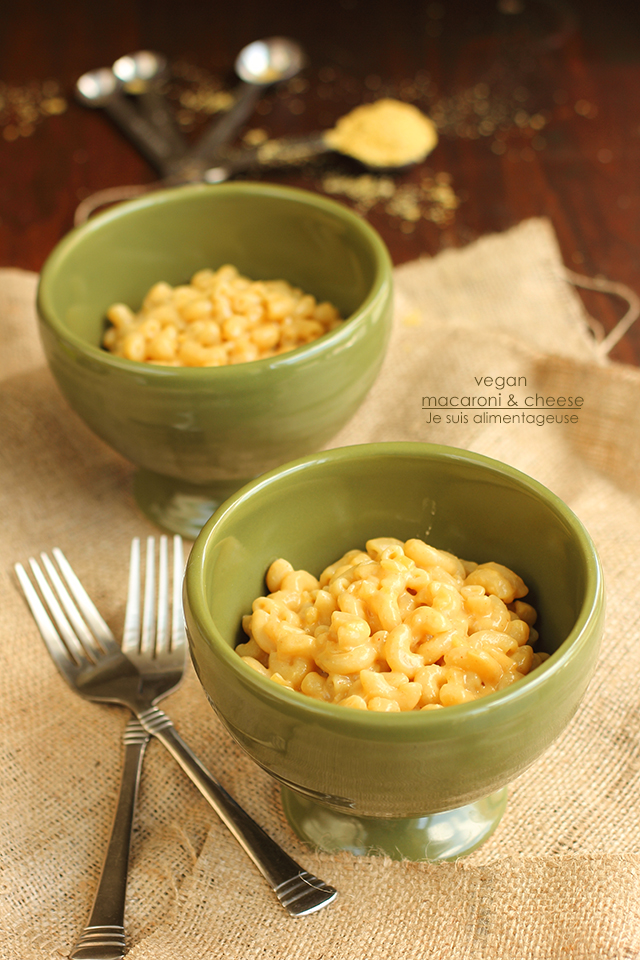 Vegan Macaroni and Cheese - The Viet Vegan