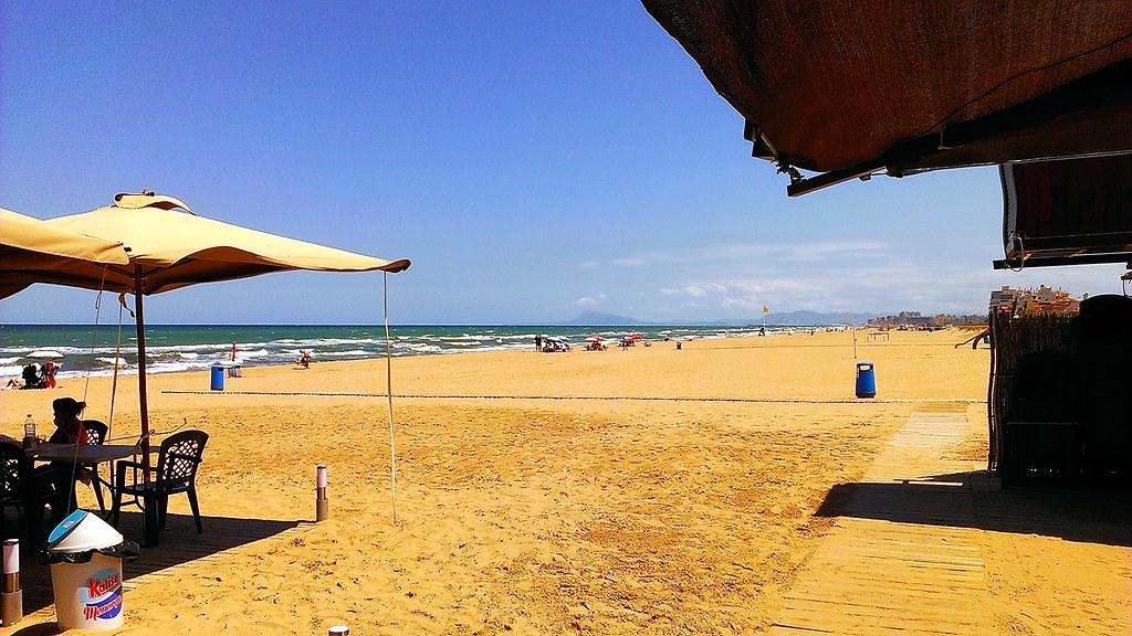 Playa xeraco