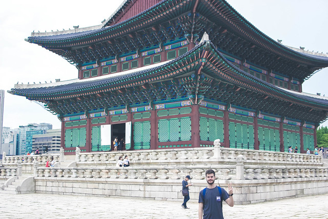 Me and the Gyeongbok palace