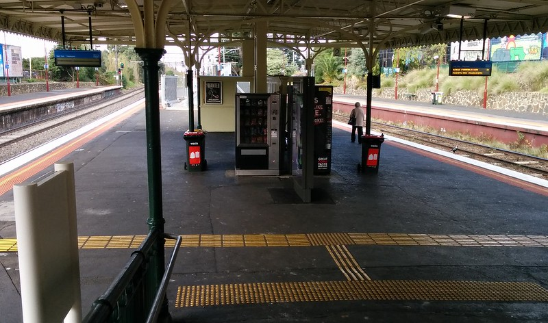 PIDs at Malvern - why on platform 3?