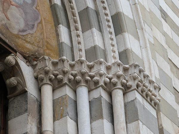 détails façade san lorenzo