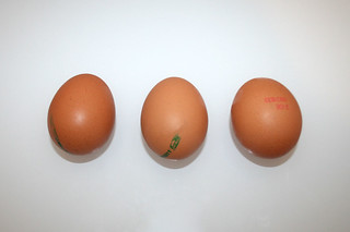 02 - Zutat Eier / Ingredient eggs