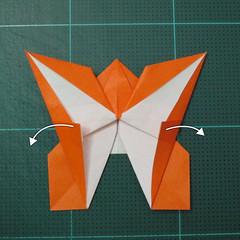 วิธีพับกระดาษเป็นที่คั่นหนังสือรูปผีเสื้อ (Origami Butterfly Bookmark) 029