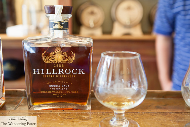 My tasting of Hillrock's Double Cask Rye Whiskey