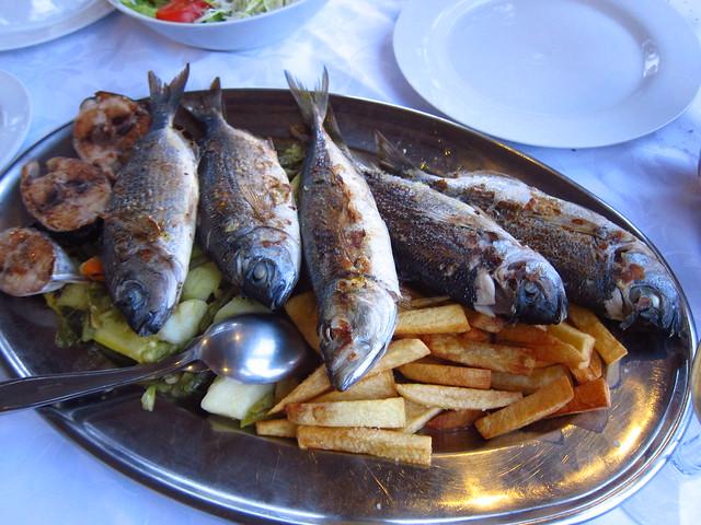 Yum! Fish!