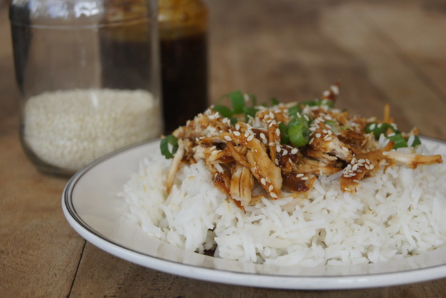 slow cooker honey sesame chicken DSC09244