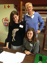 Maya Fowler, Damian Gibbs and Katrin Coetzer