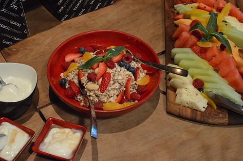 Vicinity: Super bircher, fruit salad