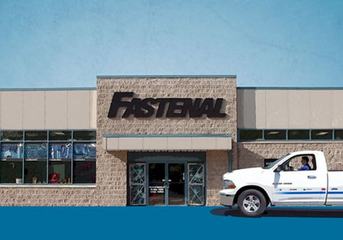 Fastenal had 2,684 stores at the end of the second quarter of 2014