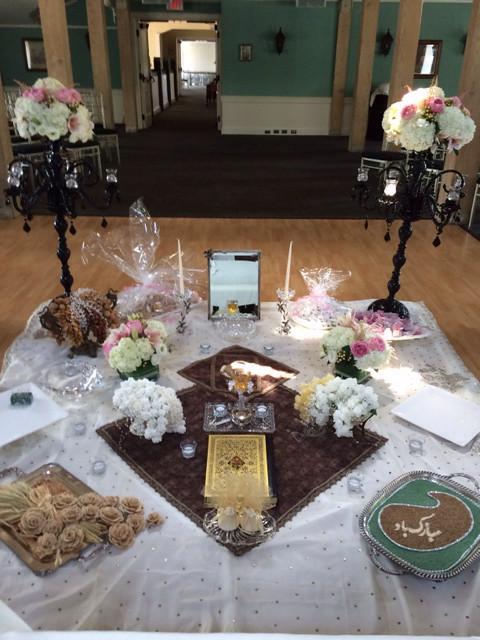 Persian wedding by Farah florist