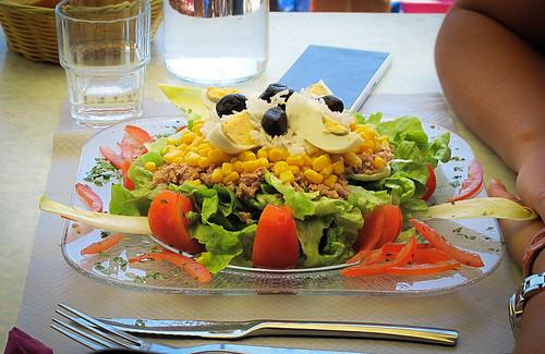 Corsica - salade Niçoise