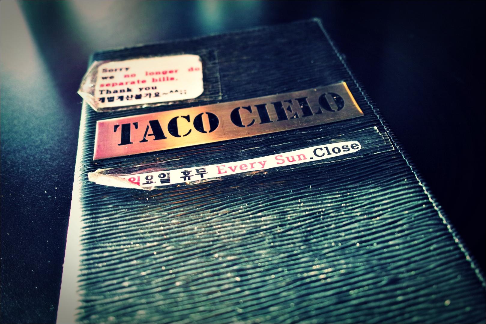 메뉴-'구월동 타코 씨엘로 Taco Cielo'