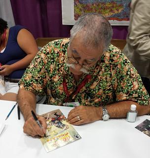 Sergio Aragones Signing