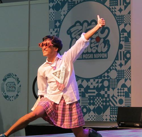 DJ Nishimura Hiyoko-chan at HYPER JAPAN