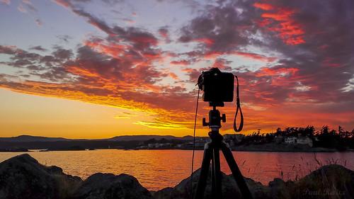 ocean sunset seascape canada clouds evening bc waterfront dusk britishcolumbia victoria vancouverisland galaxy esquimalt juandefucastrait prio salishsea saxepoint samsunggalaxy4
