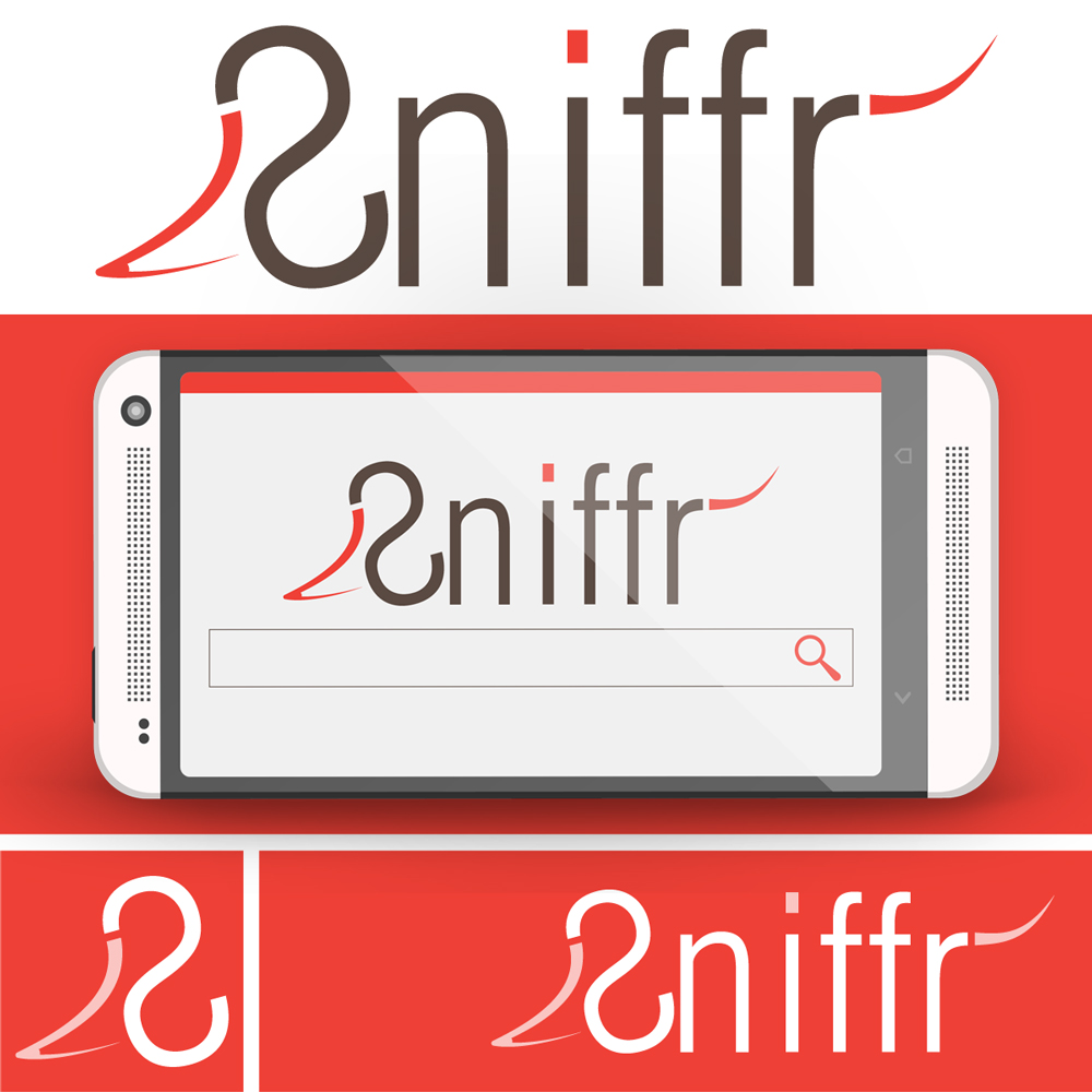 SNIFFR logóterv