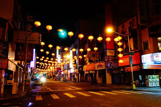 沿途滿是紅燈籠 (Photo by Lilygloria)