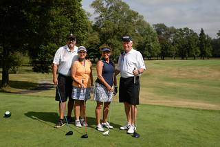 Mon, 07/25/2016 - 15:51 - Cougar Classic Chair Jerry Reinhart (on right) with his foursome last year