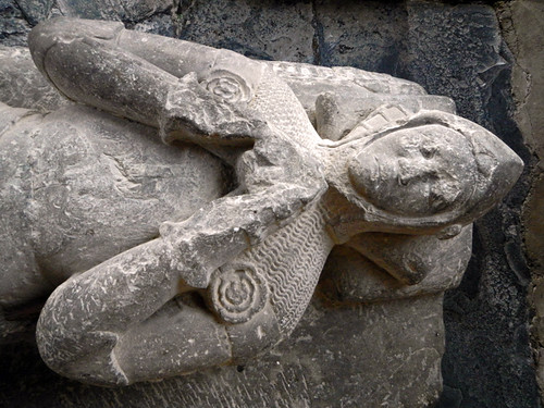 A Knight's Tomb in St Grwsts Church in Wales
