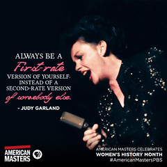 pbsamericanmasters: This month we celebrate the women who taught us the importance of individuality.