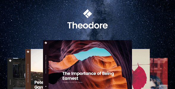 Theodore WordPress Theme free download