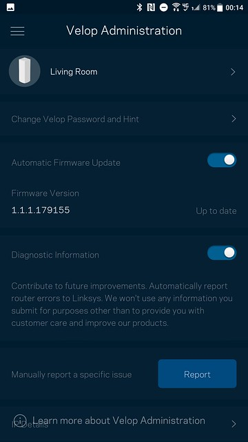 Velop App - Admin