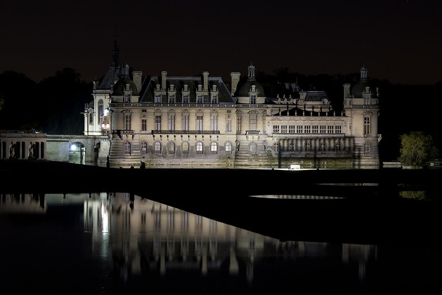 Chateau de Chantilly By Night