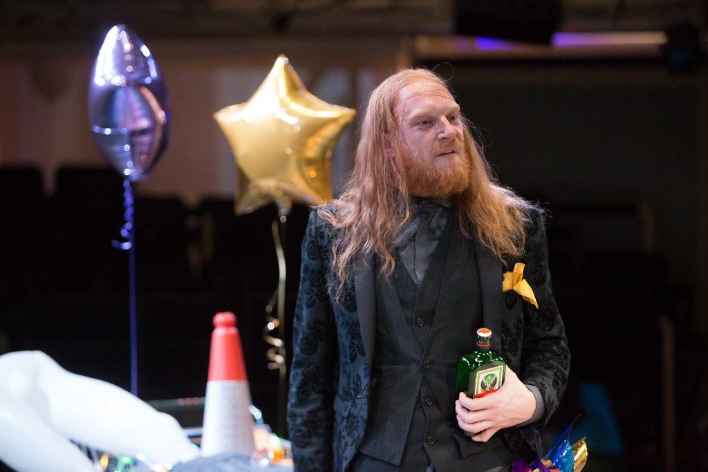 RET Twelfth Night - Harry Attwell (Sir Andrew Aguecheek)  image Jonathan Keenan 2