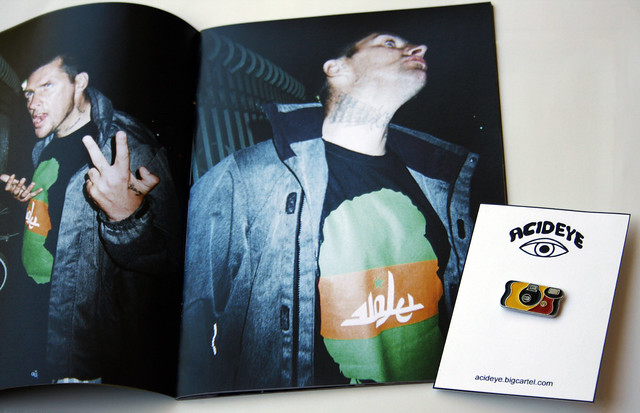 Lowlife zine + Disposable camera pin now available!