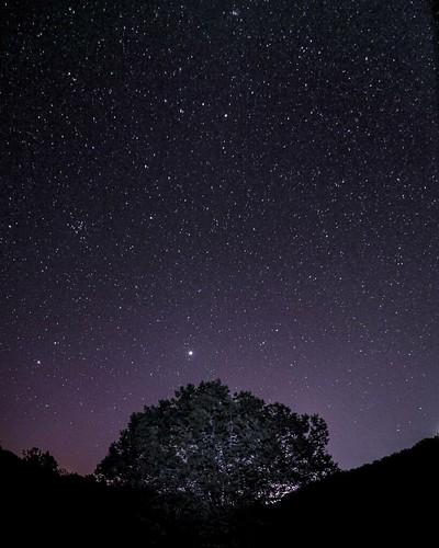 El manto estelar en El Monte..