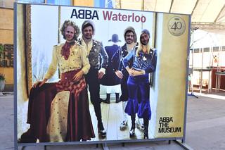 Mural 40 aniversario de Waterloo ABBA Museo ABBA de Estocolmo, leyenda sueca del pop - 13721884765 ac34cc83f4 n - Museo ABBA de Estocolmo, leyenda sueca del pop