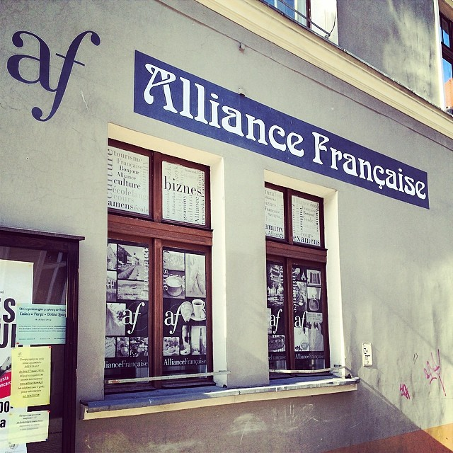 Alliance Française #toruń #poland