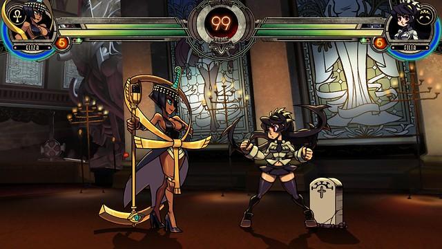 Skullgirls on PS3 - Eliza