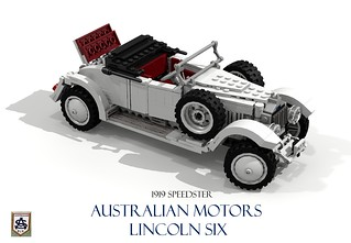 Australian Motors - Lincoln Six - 1919 Speedster