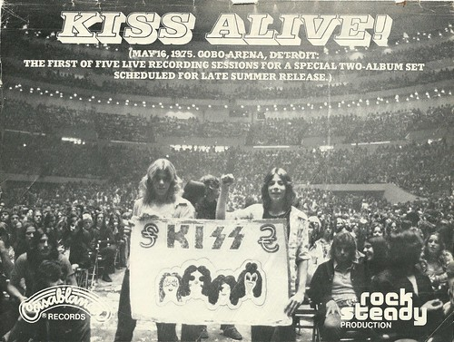 "Kiss ""Alive!"" (Released: 09/10/75) (Ad 1)"
