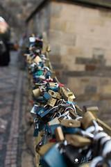 PRAGUE pont aux cadenas